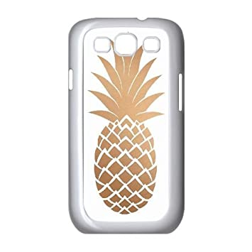 hot sale online 8fe60 521f5 Amazon.com: DIY Pineapple Phone Case for SamSung Galaxy S3 i9300 ...