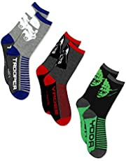 Star Wars Boys 3 pack Socks (Little Kid/Big Kid/Teen/Adult)