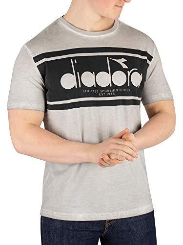 - Diadora Men's Spectra T-Shirt, Grey, L