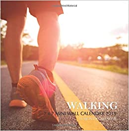 Rmg Calendar 2020 Walking 7 x 7 Mini Wall Calendar 2019: 16 Month Calendar: Mason