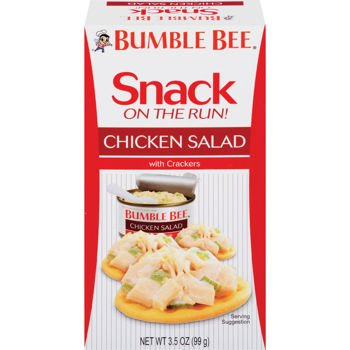 Bumble Bee Chicken Salad with Crackers (9 of the 3.5 oz) - Bumble Bee Chicken Salad