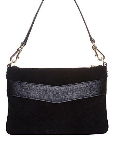 Love Moschino , Sac pour femme à porter à l'épaule Noir noir