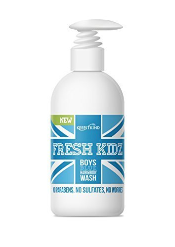 "Keep It Kind Fresh Kidz Natural Hair & Body Wash - Boys""Blue"