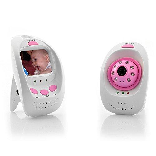 2.4GHz Wireless Digital Baby Monitor + Camera - 8 LED Lights
