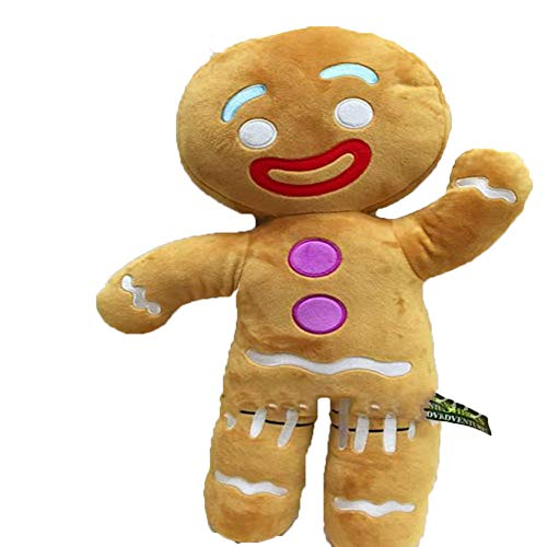 48CM Shrek Gingerbread Man Bigheadz Stuffed Plush Toys Cartoon Soft Dolls Children Gift -