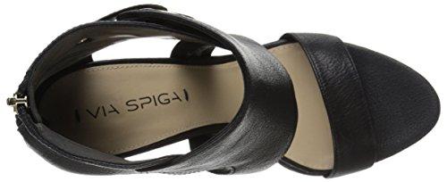 Via Spiga Damen Adra Gladiator-inspired Sandale Black