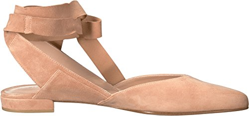 Stuart Weitzman Womens Supersonic Ballet Flat Naked Suede CI4LOlz4