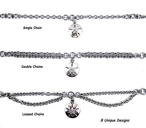Women/'s Stainless Steel Silver Emerald May Birth Stone Bike Chain Bracelet