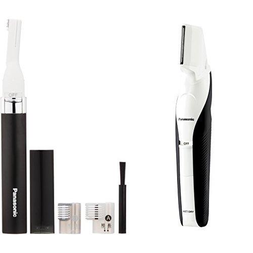 파나소닉 마유시바 검정 ER-GM20-K + 바디 trimmer ― 남성용 세트