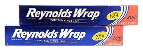 Reynolds Wrap Aluminum Foil (2-Pack, 200 sq. ft. - Total 400 sq. ft.)