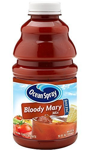 Ocean Spray Bloody Mary Mix Bottle, 32-Ounce Bottles (Pack of 36) by Ocean Spray