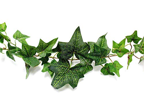 Darice Ivy Green, Flocked, 6 Feet Garland ()