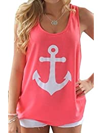 CFD Womens Back Bow Backless Tank Tops T-Shirt