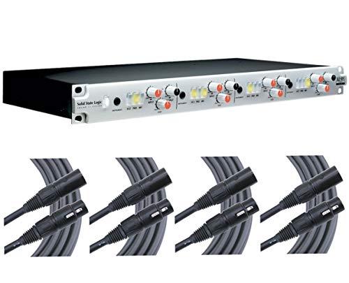 Solid State Logic SSL Alpha VHD 4-Channel Preamp + 4x 25' Mogami XLR ()