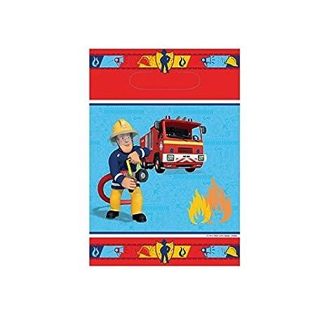 Lot 8 bolsita Surprise Sam el bombero - Bolsa regalo ...