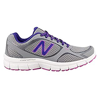 New Balance Women's 543v1 Running Shoe, Steel/Titan, 6.5 B US