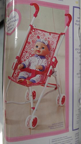 Toy Baby Doll Umbrella Stroller - 7