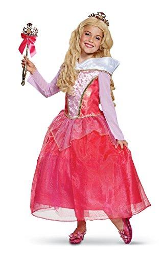 Disney Princess Aurora Sleeping Beauty Deluxe Girls'