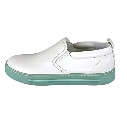 By New Shoes White Womens Marc Leather 645092 Jacobs Display Loafers 9 Marc UHqxwAgg4