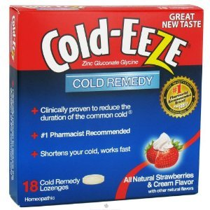 COLD-EEZE CLD DRPS BOX STR/CRM 18 (Cold Eeze Cough Drops Box)