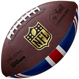 Wilson WTF1534XBNFL Pelota de fútbol Americano JR Throwback 32 ...