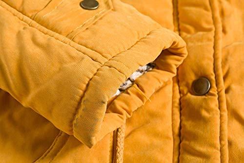 Velours avec Chaud Capuchon Oversize Femme Fourrure Manteau Hiver Parker vqTSAxR8w