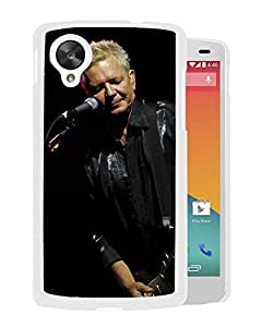 Beautiful Designed Cover Case With Iva Davies Microphone Guitar Show Play (2) For Google Nexus 5 Phone Case