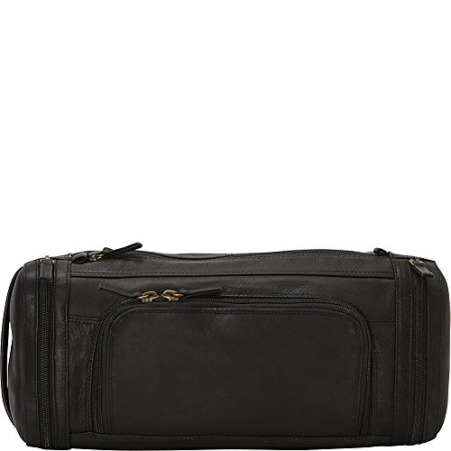 Derek Alexander Large Zippered Travel Kit, Black, One Size by Derek Alexander Leather