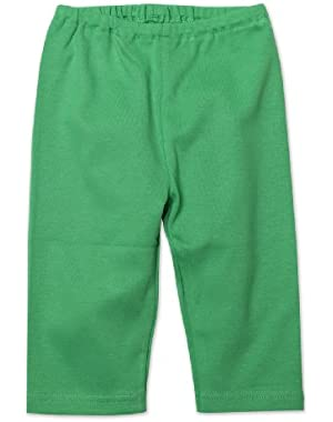 Unisex Baby Primary Solid Pant, Apple, 24 Months