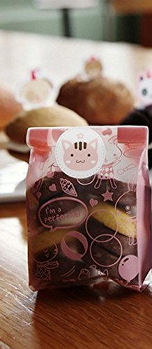 CadetBlue Pack of 25 Pink Its a Girl Decorative Candy Bag for Baby Shower Party Favours [TG052]