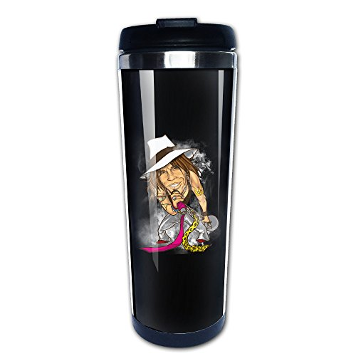Price comparison product image Hotgirl4 Healthy Rock Steven Tyler Stainless Steel Coffee Cup Mug - Great For Essential Oils.