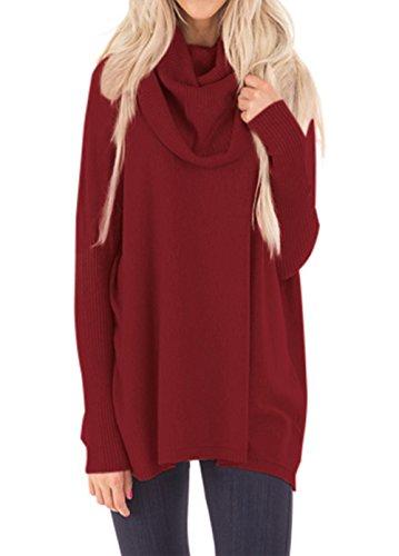 cowl neck sweater xl - 7