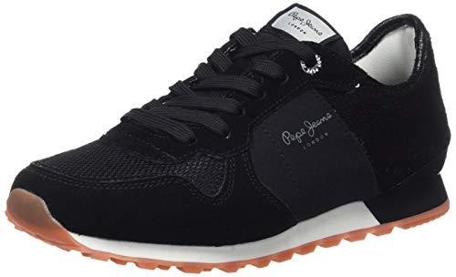 Sequins Donna Ginnastica Black 2 New Jeans Nero Verona Basse da Pepe 999 Scarpe W TqI8v77w