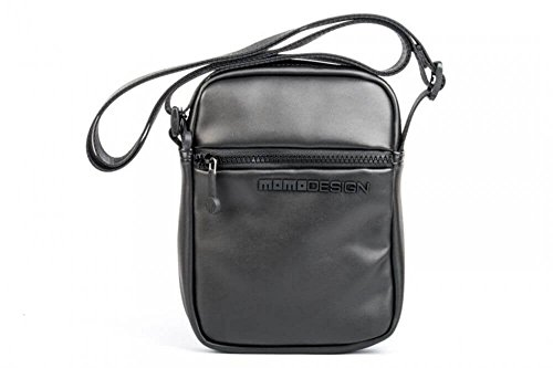 MOMO Design - Bolso al hombro para mujer negro negro