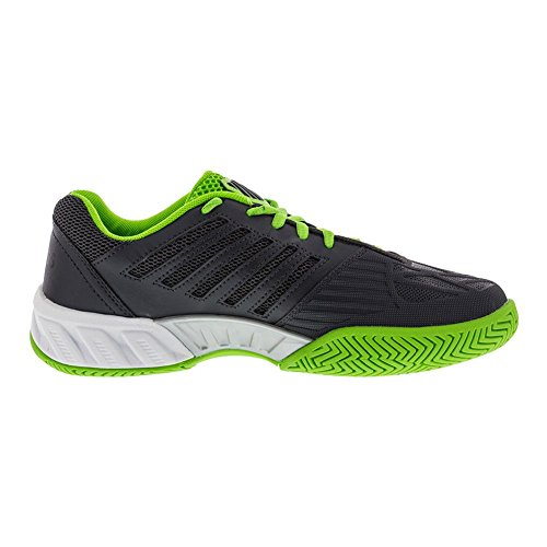 K-swiss Kids Unisex Bigshot Light 3 (little Kid / Big Kid) Ombra Scura / Verde Gelsomino