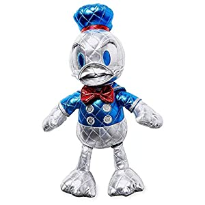 Disney Donald Duck 85th Anniversary Metallic Plush – Small – 15 Inch – Special Edition