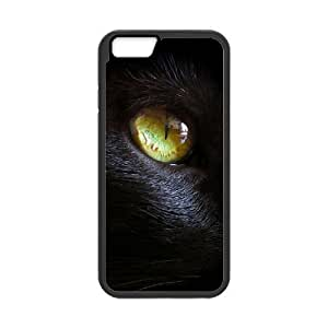 "DIY Phone Case for Iphone6 4.7"", Black Cat Cover Case - HL-R637729"