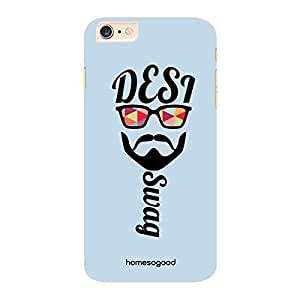 HomeSoGood Desi Swag Multicolor 3D Mobile Case For iPhone 6 Plus (Back Cover)