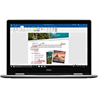 Newest 2017 Dell 2-in-1 Convertible Inspiron 7000 15.6 Full HD Touchscreen Flagship Premium Laptop PC, Intel Core i5-7200U Dual-Core, 8GB DDR4, 256GB SSD, MaxxAudio, 3-cell lithium-ion, Windows 10