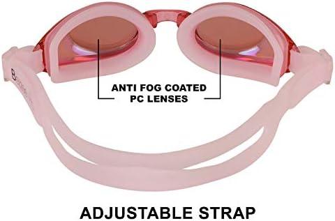 fbee2e4d3d Bezzee-Pro Gafas de natación para niños y Adolescentes - Antiempañado, Anti  UV,. Cargando imágenes... Atrás. Pulsa ...