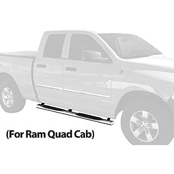 2018 dodge quad cab. plain quad maxmate wb2d41147 custom fit 20092018 ram 1500 quad cab 4 inch oval  stainless steel inside 2018 dodge quad cab