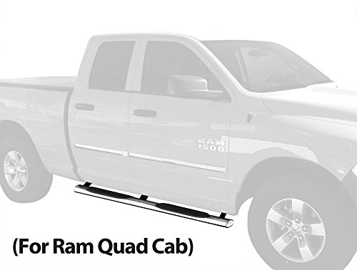 running boards ram 1500 quad cab - 3