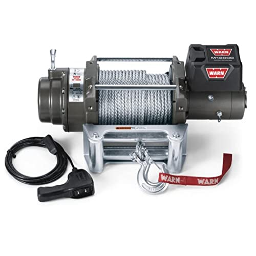 12000 lbs winch parts amazon warn 17801 m12000 12000 lb winch sciox Images
