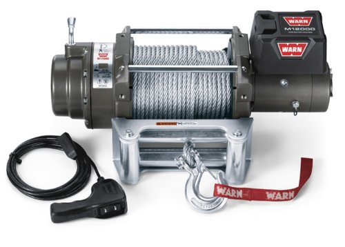 WARN 17801 M12000 12000-lb Winch - 1956 Ford F-350 Pickup