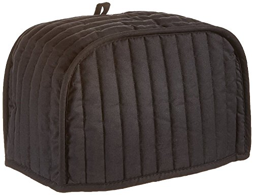 Quilted Toaster Cover Black