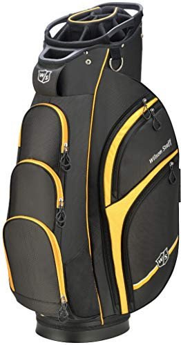 Wilson Staff Xtra Cart Bag, Black/Yellow