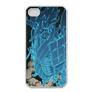 iphone4 4s White phone case Naruto Madara Uchiha Best gift for boys NOF3731130