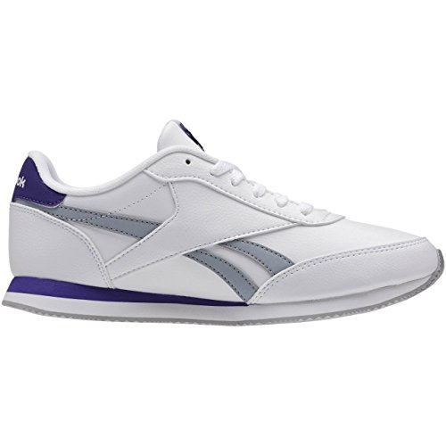 Royal de 2L Deporte Cl Morado Jog Reebok Zapatillas Purple Baseball White Grey Gris Mujer Blanco Team SdXnnq
