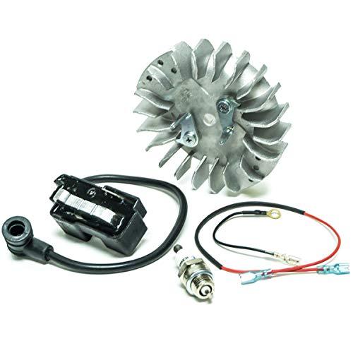el Spark Plug for Husqvarna 359 365 371 372 372XP 385 390 ()