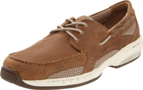 Dunham Men's Captain Boat Shoe,Tan,9 2E US by Dunham